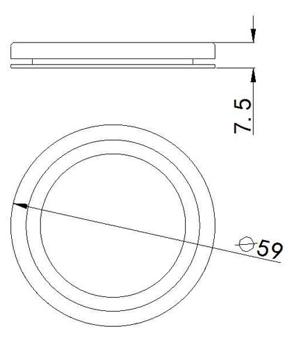 SLCG-A003-1 LED Cabinet Light