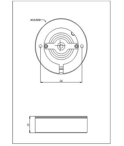 SLCG-A003-3 LED Cabinet Light