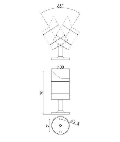 SLCG-B003 LED Cabinet Light
