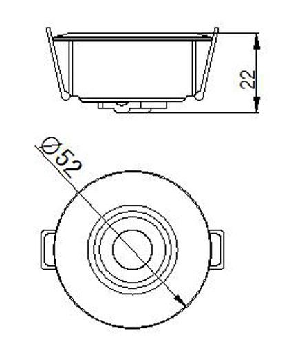 SLCG-C004 LED Cabinet Light