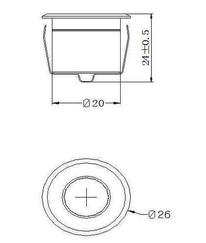 SLCG-E003 LED Cabinet Light