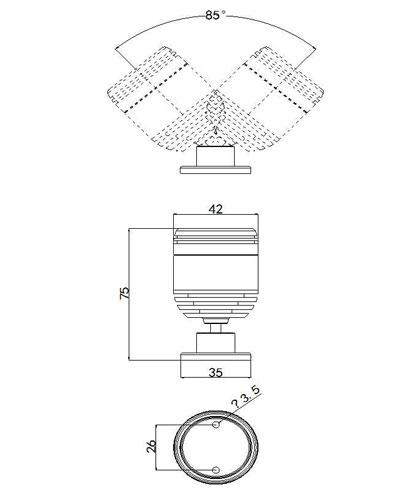SLCG-G004-1 LED Cabinet Light