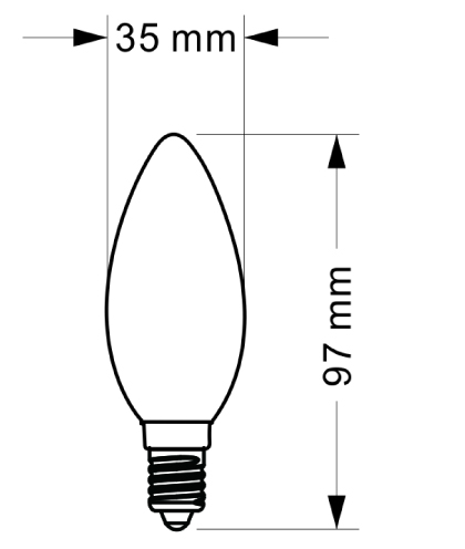 SUC LED Filament Bulb SPF-01