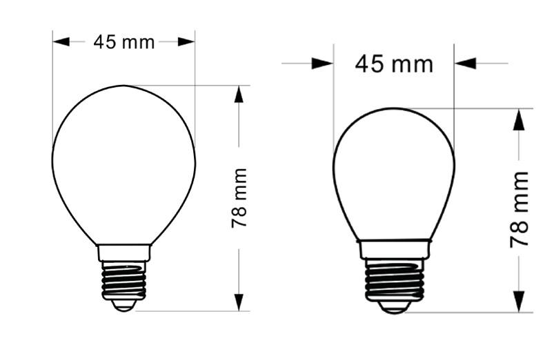 SUC LED Filament Bulb SPF-02