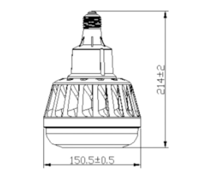 SCH-100-50W SUC LED High Bay