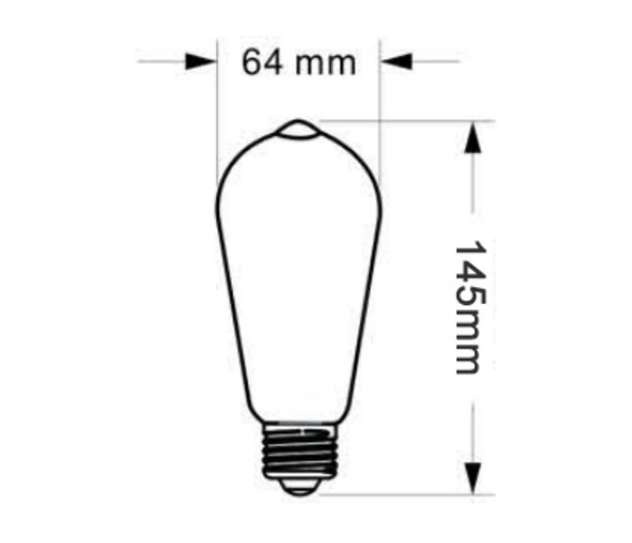 SCB-320 SUC LED Soft Filament Bulb