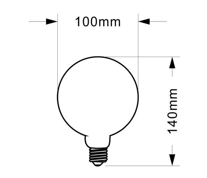 SCB-314 SUC LED Special Shape Bulb